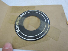 NOS OEM DECAL KAWASAKI AR125 KZ100 KZ750 KZ550 MARK HANDLE COVER 56018-1297