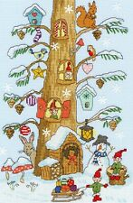 BOTHY THREADS SANTAS LITTLE HELPERS COUNTED CROSS STITCH KIT CHRISTMAS XX15 NEW