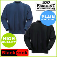 High Quality Heavyweight Plain Sweatshirt Work Jumper Sweater Pullover Uniform