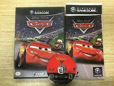 Cars (Nintendo GameCube, 2006) Disney / Pixar Black COMPLETE WORKS PERF SHIP FAS