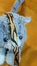 Cat Collar Handmade - Wild Tiger Stripes Cotton Fabric. Jungle Cat?
