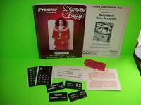 Gottlieb DIAMOND LADY Original 1987 Pinball Machine Service Manual w/ Schematics