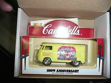 NEW Campbells Soup 100th Anniversary Die-Cast Car Model Souvenir - Yellow Volksw