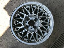 "BMW 3 SERIES E30 14"" BBS BASKETWEAVE ALLOY WHEEL 2225540 KBA4107 318i 325i OEM"