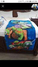 Ninja turtles Child Sleeping Bag With Pillow And Plush Night Light