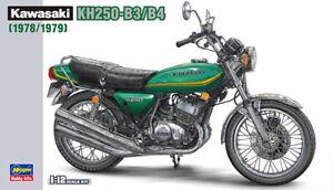 Hasegawa 21508 BK-8 1/12 Scale Model Kit Kawasaki KH-250 B3/B4 1978/1979