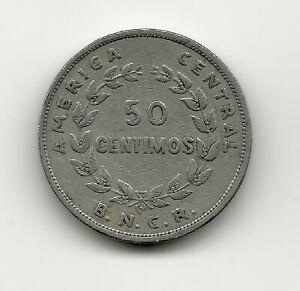World Coins - Costa Rica 50 Centimos 1948 Coin KM# 176