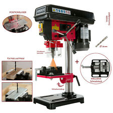 Tischbohrmaschine Säulenbohrmaschine Standbohrmaschine 500 W Laser Schraubstock