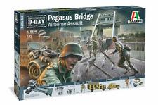 """Airborne Assault """"pegasus Bridge"""" Battle Set ITALERI 1/72"""