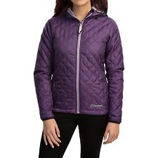 Womens Cloudveil Pro Series Midweight Emissive Insulated Jacket Purple Size L