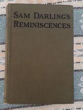 SAM DARLINGS REMINISCENCES HORSE RACING BOOK CHEAPER EDITION