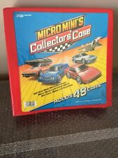 50 Piece Micro Machines + Car Collector Case! Tractor Trailer- Military Nice Lot