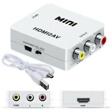 HDMI TO AV Composite CVBS 3RCA  1080p Converter Adapter HDMI TO AV