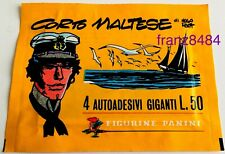 CORTO MALTESE di Hugo Pratt BUSTINA FIGURINE Panini 1977 SIGILLATA da collezione