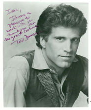 Ted Danson (Vintage, Inscribed) signed photo COA