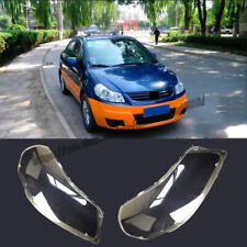 For Suzuki SX4 S-Cross 2014-2016 Headlight Headlamp Lens Cover Right&Left 2pcs