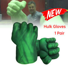 2pcs Cosplay Hulk Gloves Smash Hands Boxing Fist Punching Xmas Children Toy Gift