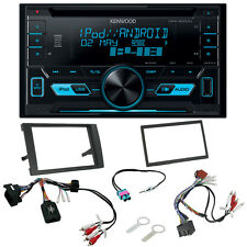 Audi A4 B7 2007> Double Din CD MP3 USB iPhone & Android Direct Music Upgrade Kit