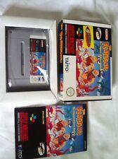 juego Súper Nintendo The Flintstones The treasure of sierra Madrock