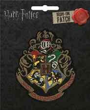 Harry Potter Iron On Patch: Hogwarts Crest