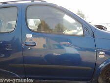 TÜR Toyota Yaris Verso 1,4D 55kW 75PS Farbcode: 8M6 Beifahrerseite rechts vorn