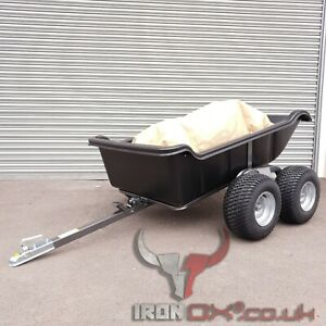 OFF ROAD TRAILER   MOWER TRAILER   STABLES TIPPING TRAILER   GALVANISED STEEL