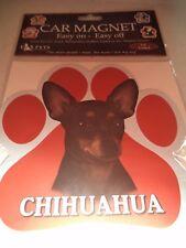 PET & PAW CAR MAGNET - ASST. DOG BREEDS - #2 CHI BORDER SCHNAUZER JACK TERRIER