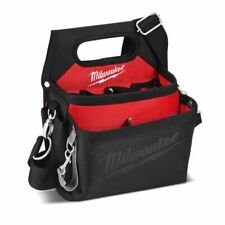 Milwaukee 15 Pocket Electricians Work Tool Organizer Pouch Quick Adjust Belt Bag