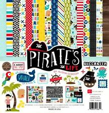 Echo Park Paper PIRATE's LIFE 12x12 Collection Kit Kids Scrapbook Planner
