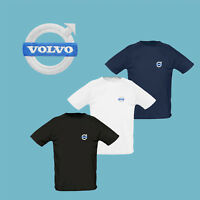 Mens Volvo T Shirt M-3XL EMBROIDERED Auto Car Logo Tee Shirt S40 S60 Sport
