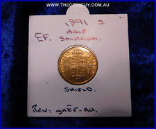 1891 Australian Half Sovereign  gEF