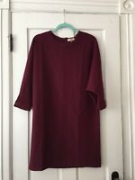 Italian Dress VANESSA Collezione Dolman Sleeve Made in Italy sz MED