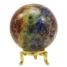 Orgone sphère boule multi-Pierre guérison équilibrage cadeau Reiki pierre gemme