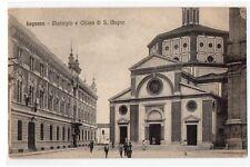 CARTOLINA -  LEGNANO MUNICIPIO E CHIESA DI S. MAGNO 4583