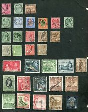 STAMP LOT OF MALTA, MNH, MH AND USED (2 SCANS)