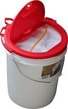 Challenge Plastic 5 Gallon Bucket Cooler Fish Bait Storage Lid Fishing Trip