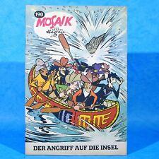 Mosaik 190 Digedags Hannes Hegen Originalheft   DDR   Sammlung original MZ 12