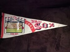1967 Chicago White Sox Pennant with Team Picture Vintage Rare
