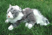Maine Coon Katze, liegend 33 cm (Designerware)