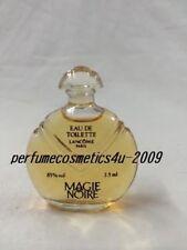 CLASSIC MAGIE NOIRE LANCOME MINIATURE WOMEN .25 OZ / 7.5 ML EAU DE TOILETTE NEW