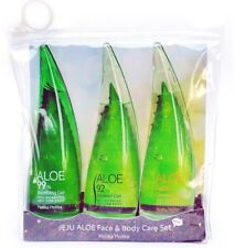 Holika Holika Aloe 99% Soothing Moisture Gel Face Shower Gel Cleansing Foam Trio