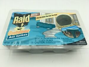 Raid Outdoor Ant Spikes 6 Ct Kill Ants Before They Enter Your Home Rare Bs85