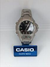 Casio Watch Vintage Edifice EFA-100 module 2318 Digital/Analog Rare Wrist Quartz