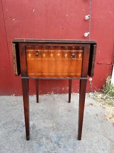Antique Drop Leaf Pembroke side table