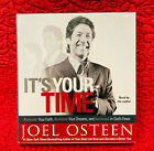 """NEW Joel Osteen """"IT'S YOUR TIME"""" 5 CD Set read by the Author (Non-Fiction)SEALED"""