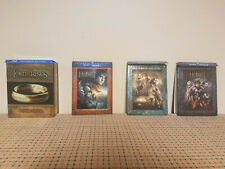 The Hobbit & Lord of the Rings Extended Editions Blu-Ray Bundle