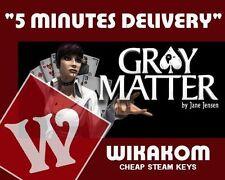 gray matter pc steam cd key
