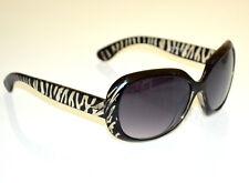 Lunettes de soleil de zèbre femme NOIR UV400 Sun glasses zonnebril óculos G20