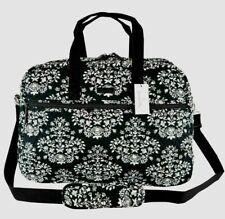 NWT VERA BRADLEY Medium TRAVELER Bag Travel Tote in Chandelier Noir black/white