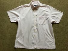 Austin Reed Mens Short sleeve Button Down Shirt XL